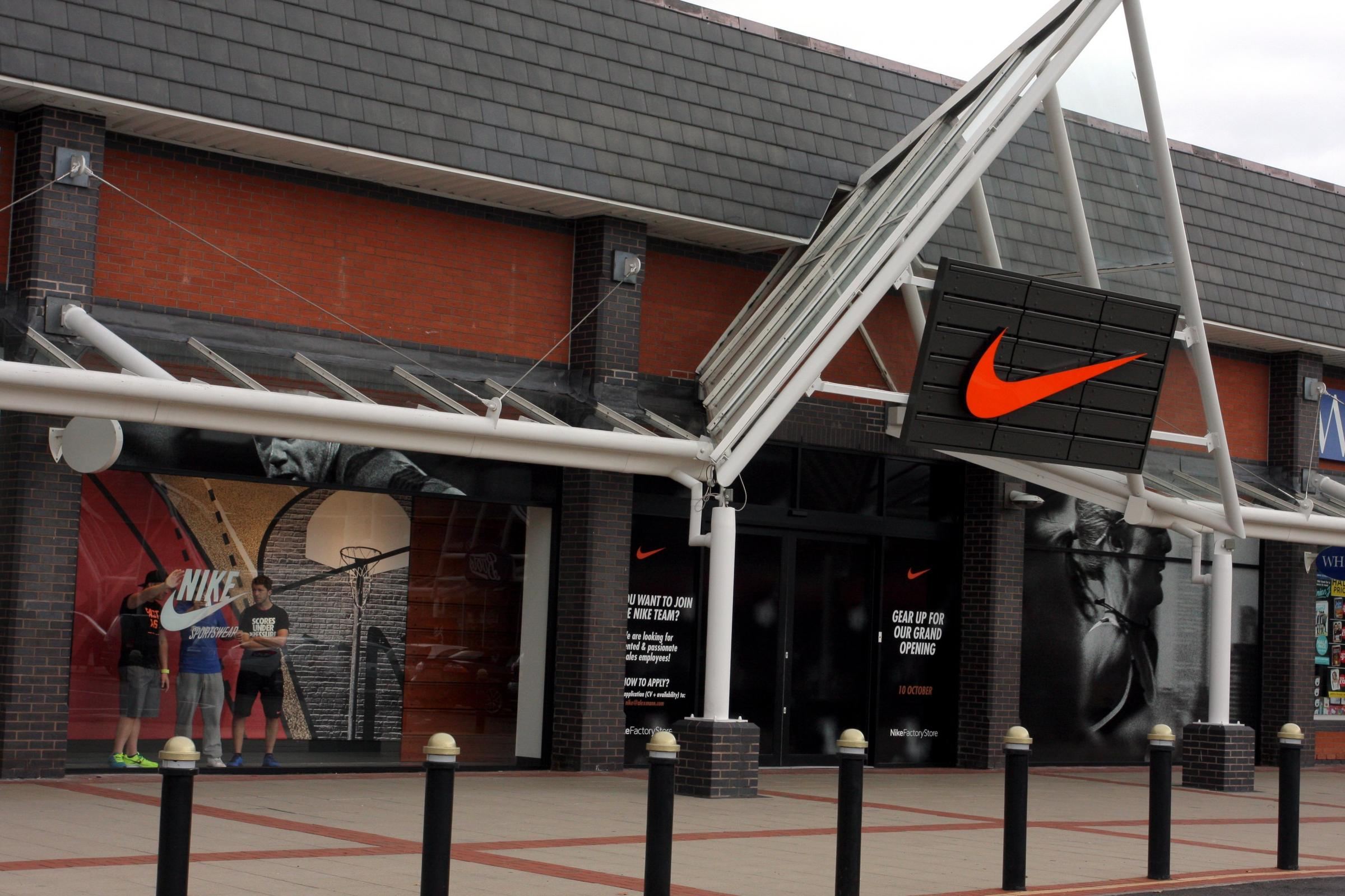 Flintshire's Nike outlet store to close down at Broughton Shopping Park
