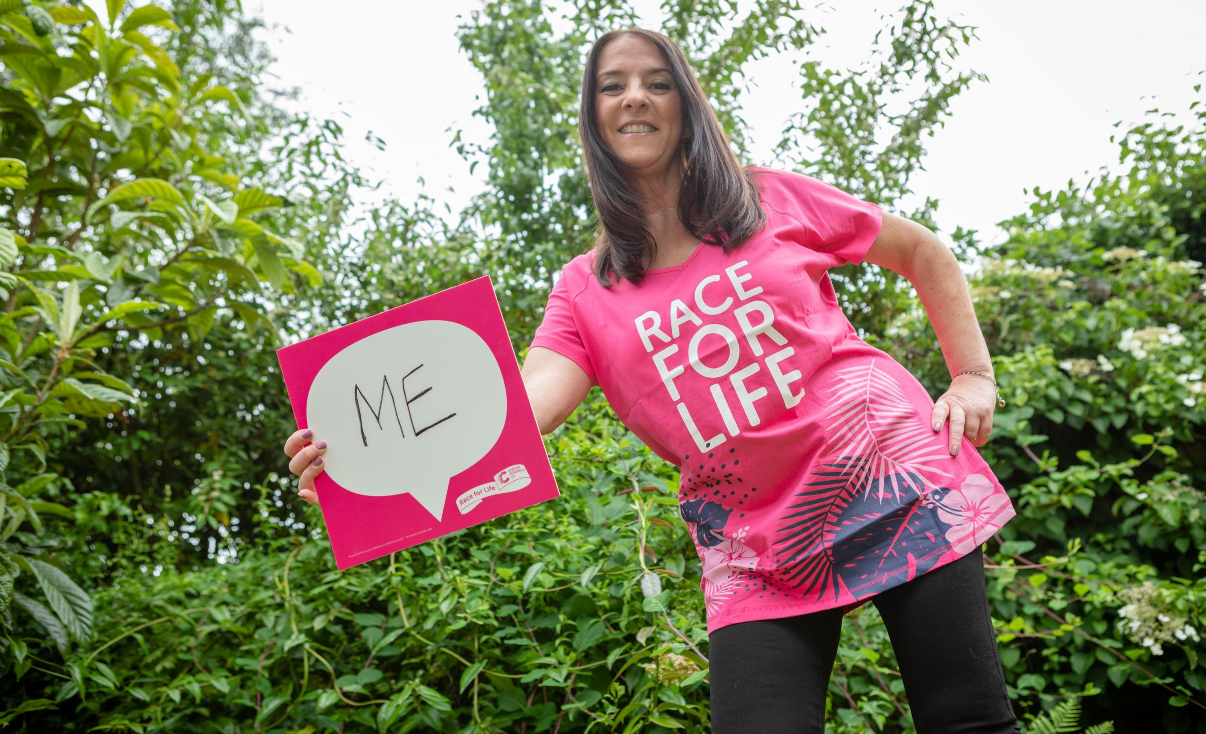 Chester cancer survivor Juana urges others to join her in Race for Life