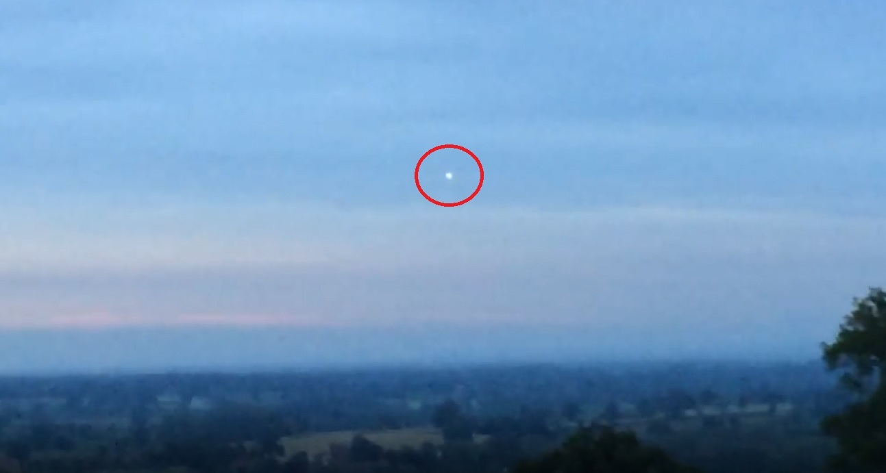 Is this a UFO? Malpas man spotted glowing orb in Cheshire sky