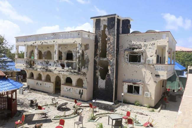 Somalia hotel attack kills Briton and several other