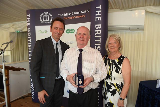 Ellesmere Port community stalwart receives British Citizen Award at Palace of Westminster ceremony