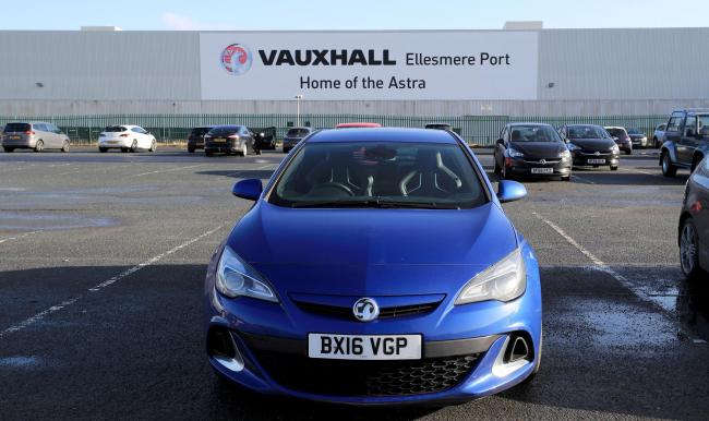There are concerns about the future of Ellesmere Port's Vauxhall plant.