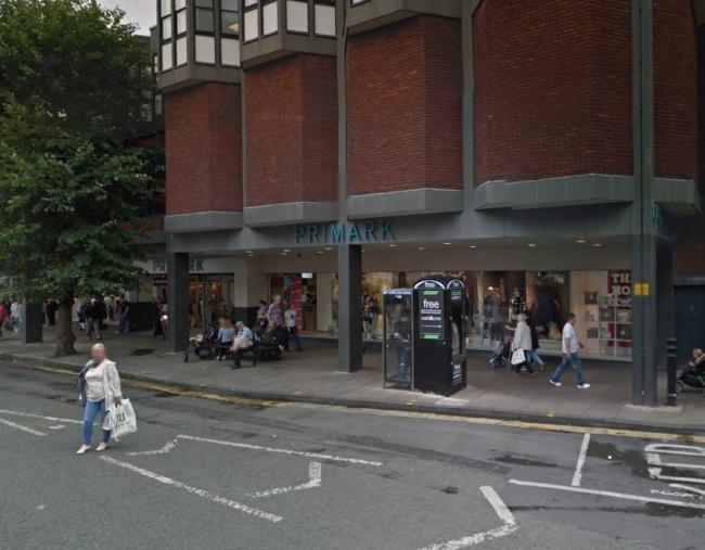 Primark, Foregate Street, Chester. Picture: Google Street View.