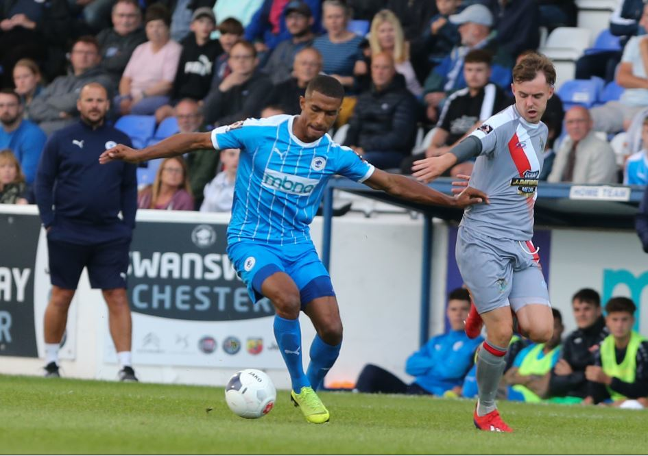 Danny Elliott relishing competition for places in the Blues attack