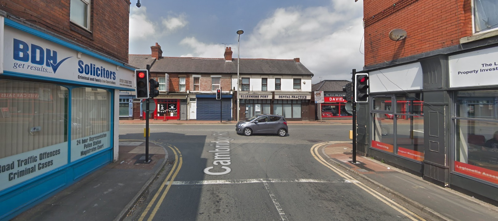 Ellesmere Port biker ran red light and collided with oncoming car after he 'panicked' when police approached