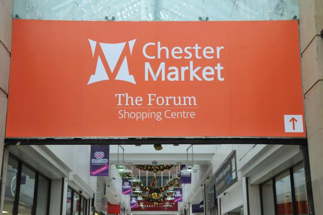 Chester Market Northgate Street, GV Picture of Chester Market The Forum Shopping Centre...SW221117D.