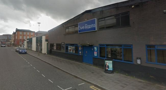 The Live Rooms on Station Road in Chester. Image from Google Street View.