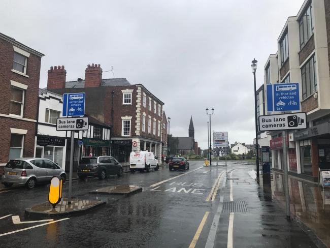 Those caught on bus lane cameras in Chester city centre will be fined up to £60 from September 16.