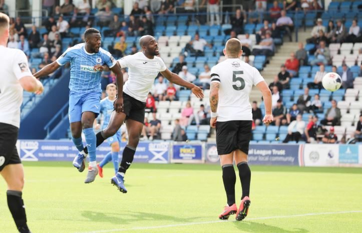 Hat-trick hero Asante propels Chester to impressive victory