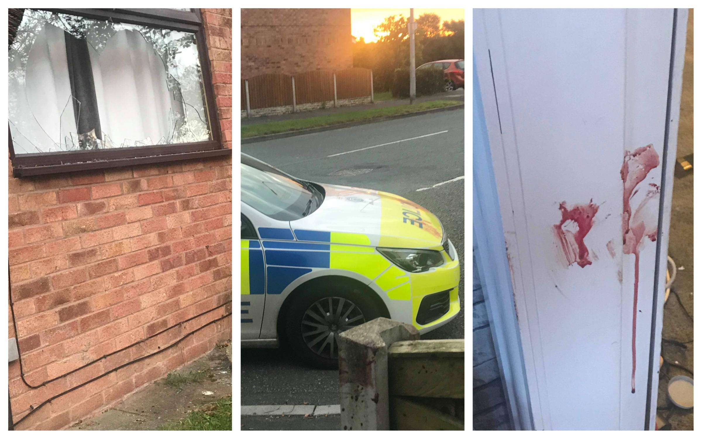 Chester: Half-naked man crashed through window while schoolgirl, 7, was watching TV