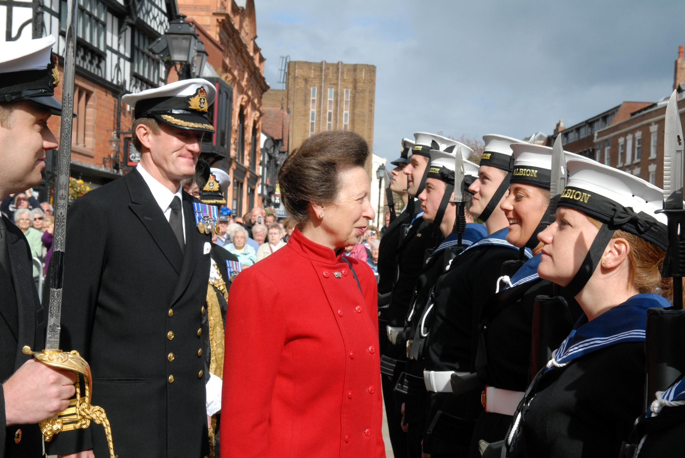 Royal visit as HMS Albion crew to parade through Chester: Full details and road closures