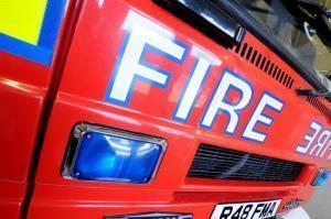 Firefighters were called out to a cooker fire in Ellesmere Port.