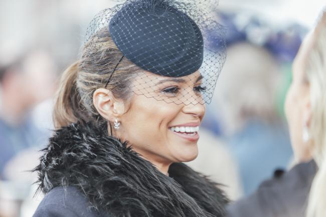 A glamerous racegoer at 2019 Boodles May Festival.