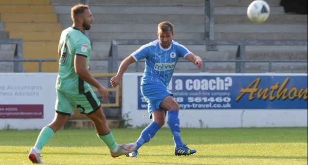 Chester joint-manager Anthony Johnson on King's Lynn Town test