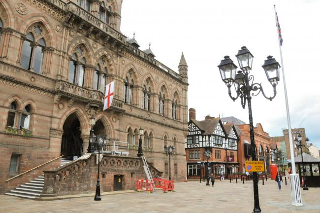 Chester Town Hall Square