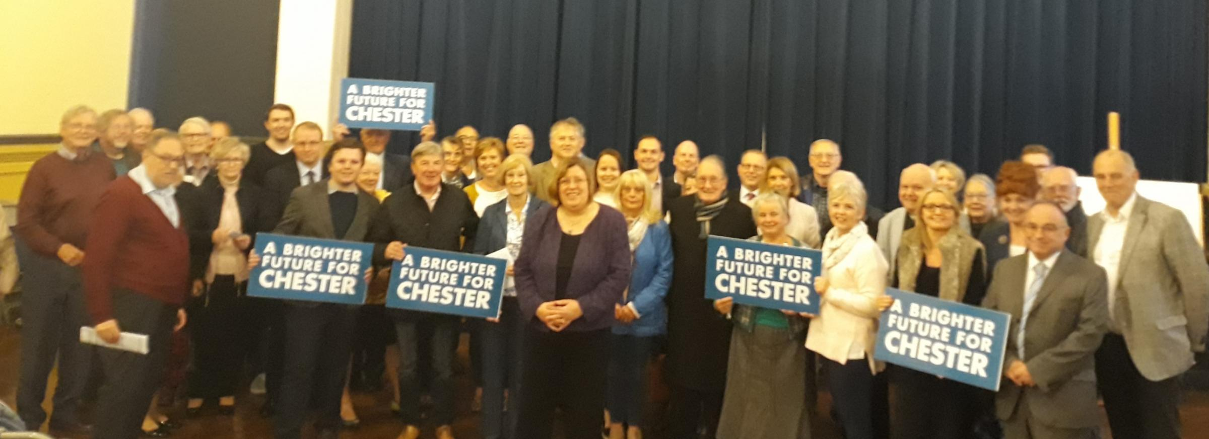 Tories pick their candidate to take on Labour MP Chris Matheson in next General Election