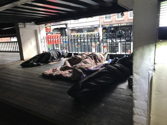 Soul Kitchen founder takes issue with claims Chester's rough-sleepers are being ignored