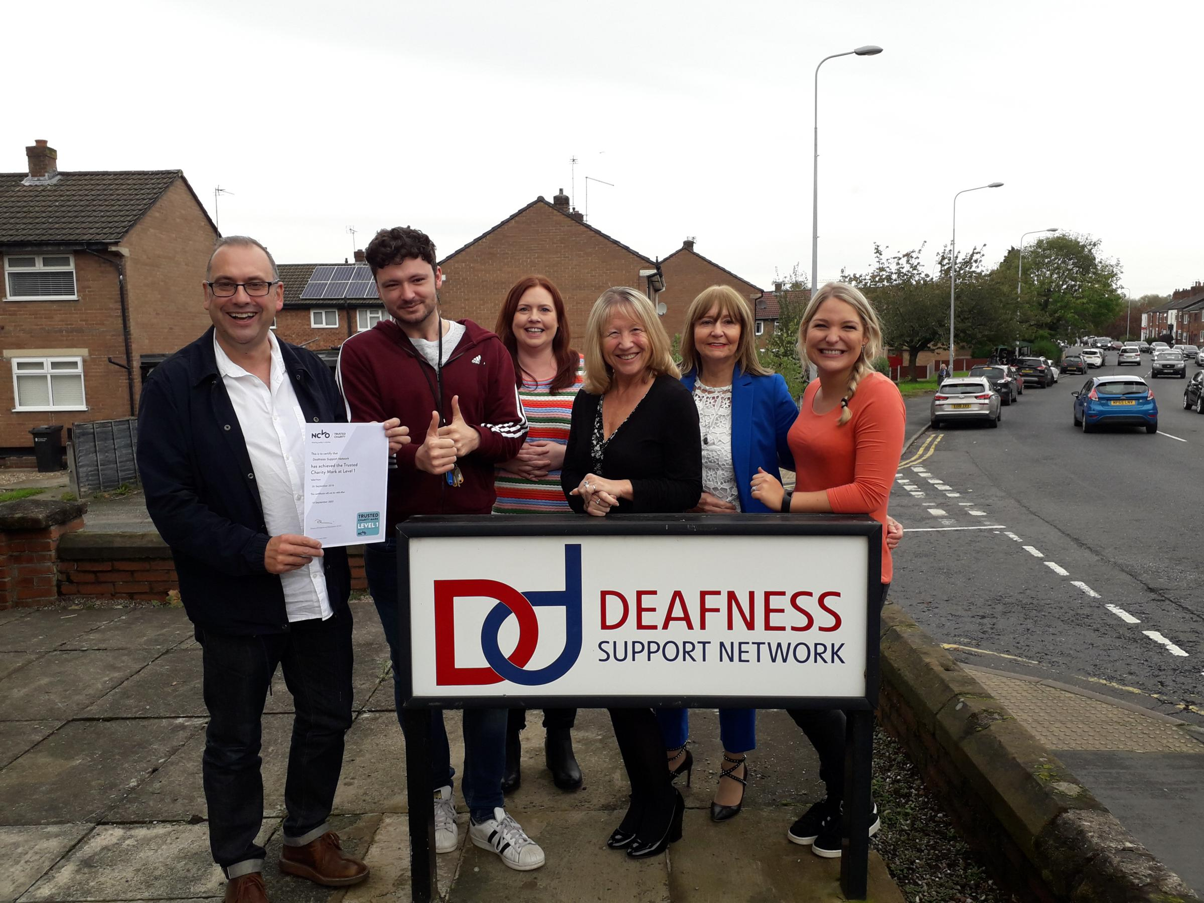 Cheshire sensory loss charity scoops national accolade