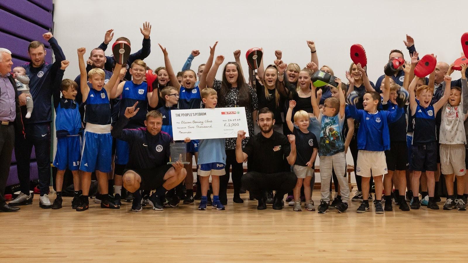 Blacon Boxing Club founder wins Spar community sport accolade