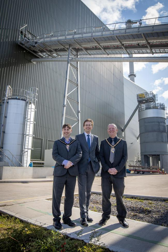 "The official opening of the The Bioenergy Infrastructure Group (""BIG"") facility in Ince.  Picture:  Ginger Pixie Photography"