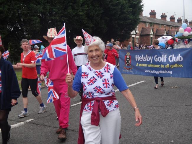 Marie Birkenhead at the Queen\'s Jubilee celebrations in 2012. Image: Cllr Andrew Dawson and Cllr Lynn Riley