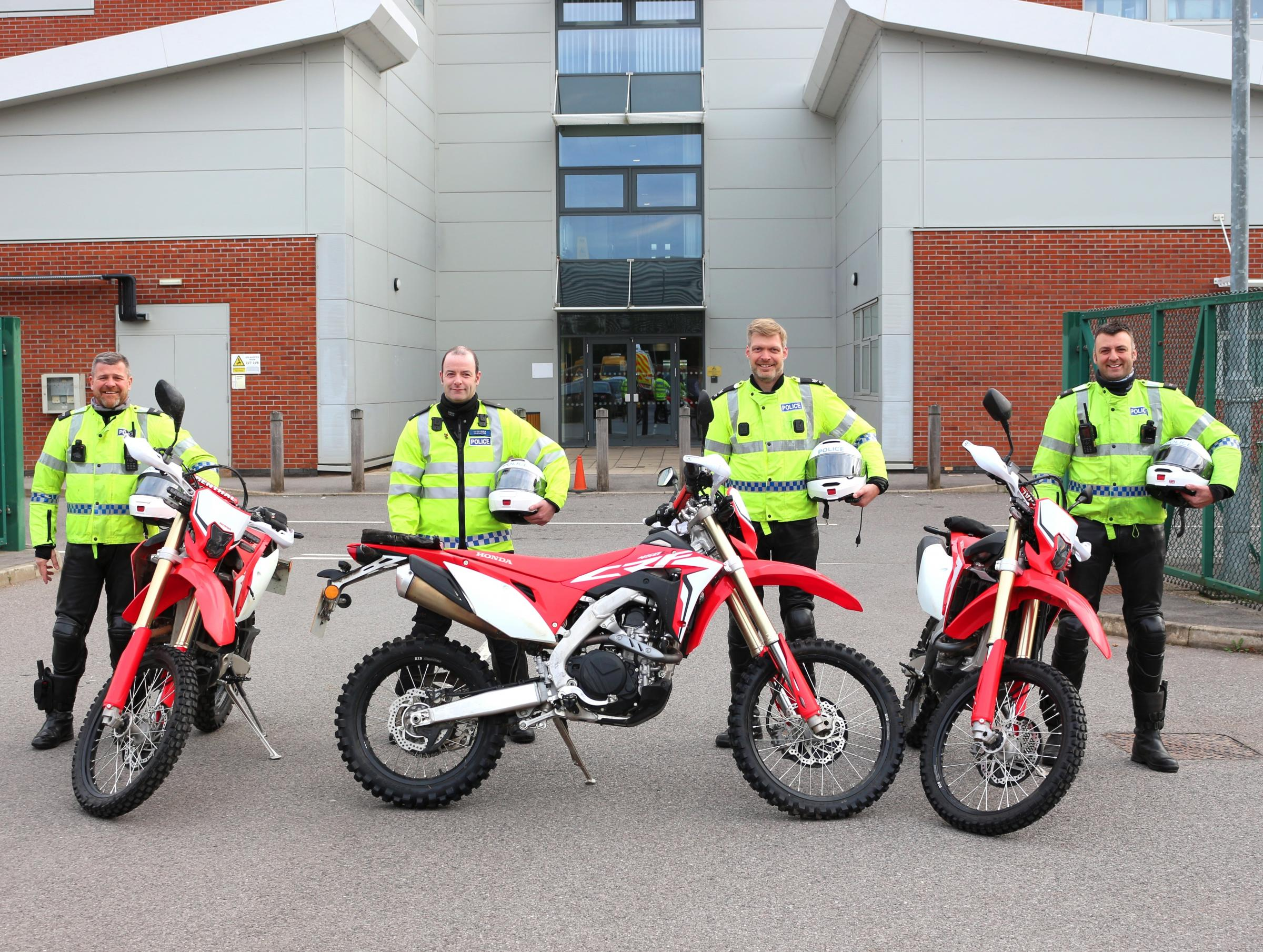 Cheshire police biker team tackle nuisance riders and criminals in Ellesmere Port