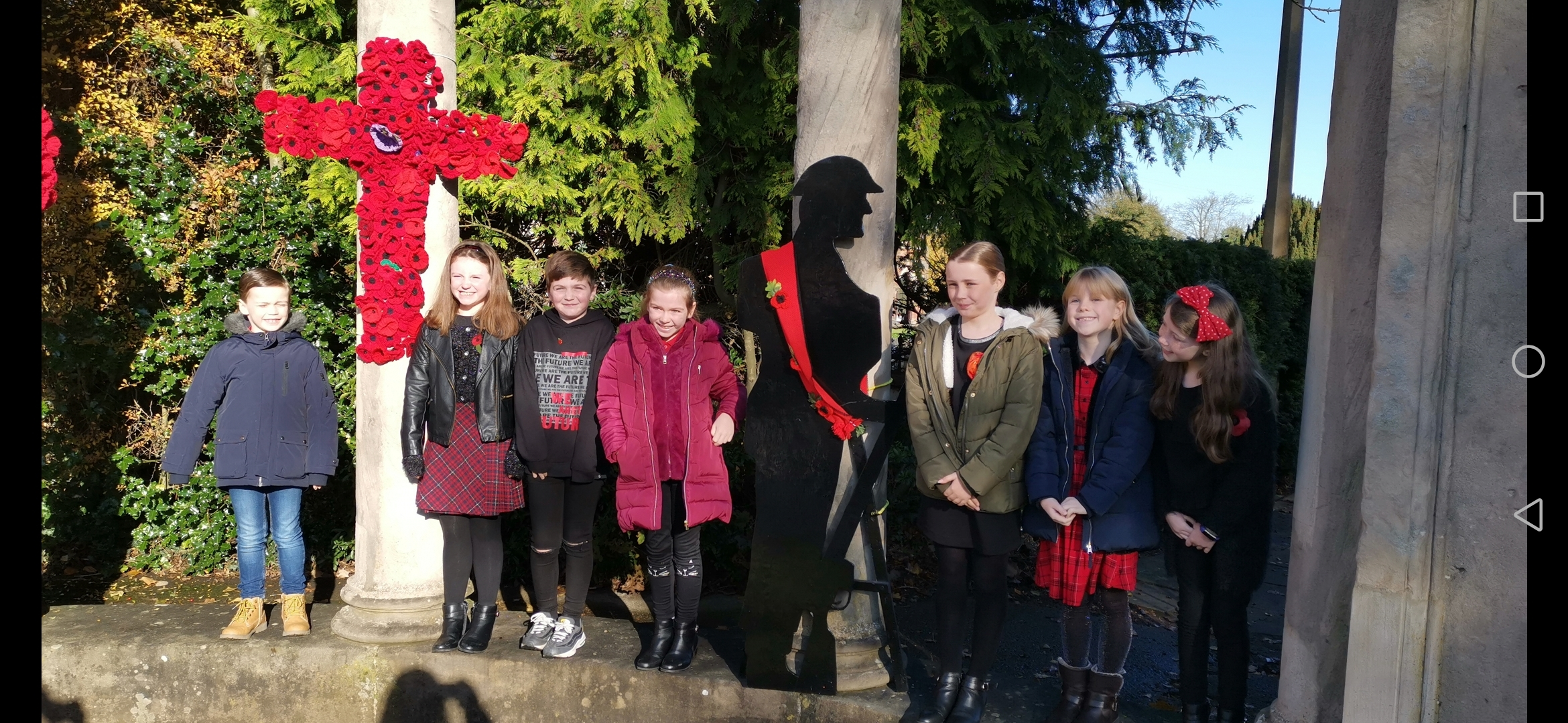 Community team effort ensures Little Sutton looks its best for Remembrance Sunday