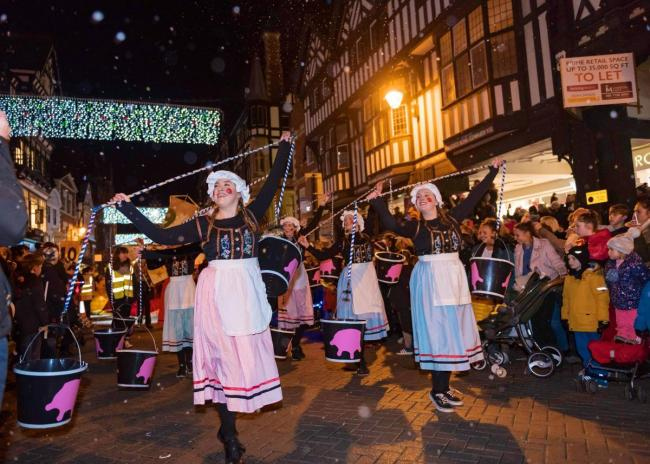 The traditional Chester Christmas lights switch-on event will not be held this year due to coronavirus.