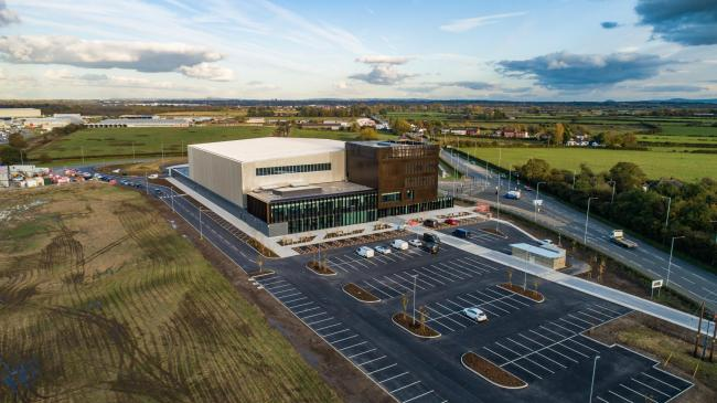The £20m Advanced Manufacturing Research Centre Cymru in Broughton