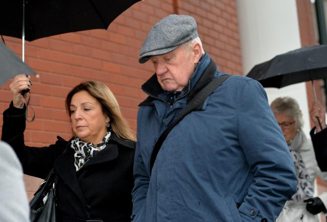 Hillsborough match commander David Duckenfield arriving at Preston Crown Court. Picture: Peter Powell/PA Wire