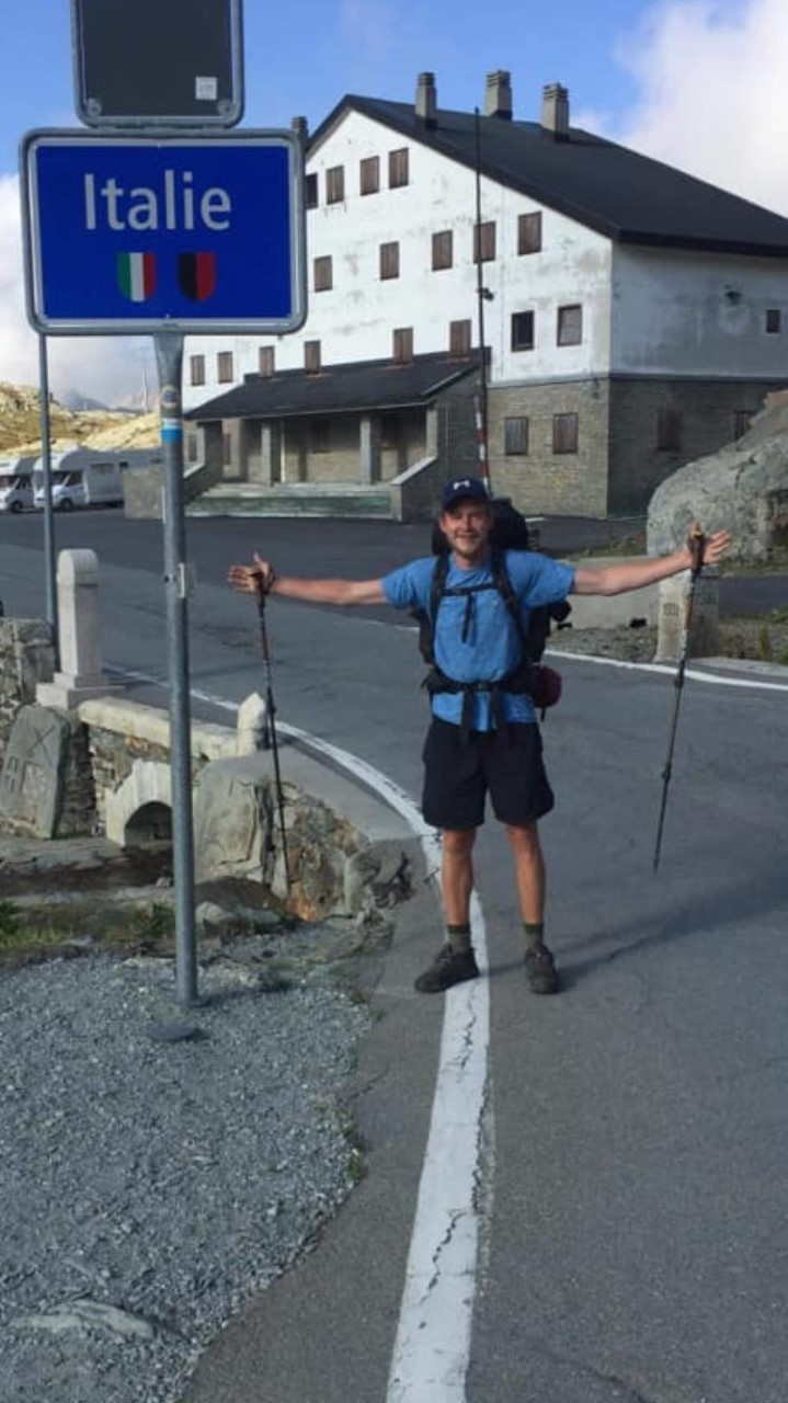 Chester fundraiser walks from Blacon to Rome in aid of boxing club
