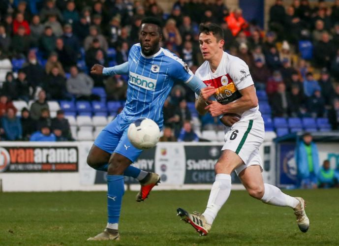Chester head to the north east for Darlington clash