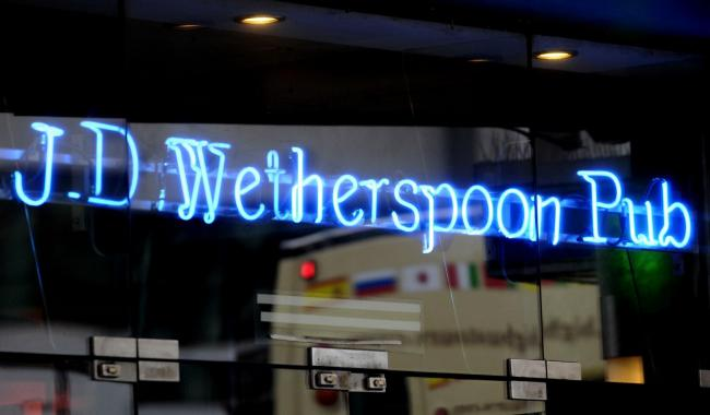 Wetherspoons are to invest more than £200 million in pubs and hotels over the next four years, creating around 10,000. Image: PA