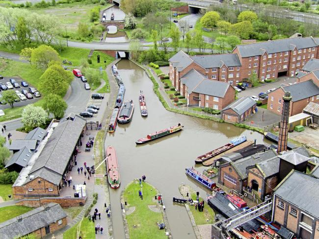 The National Waterways Museum in Ellesmere Port. Photo credit: Steve Parsons/PA.