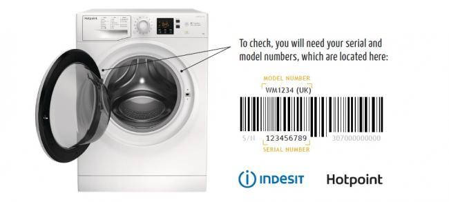 Whirlpool is urging people to check their washing machines to see if they are the faulty models.