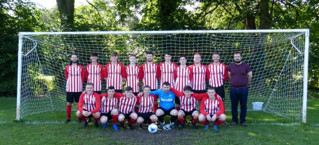 Axis United Innovent lost 2-1 to Tarvin Rex in the Chester and District Sunday Football League.