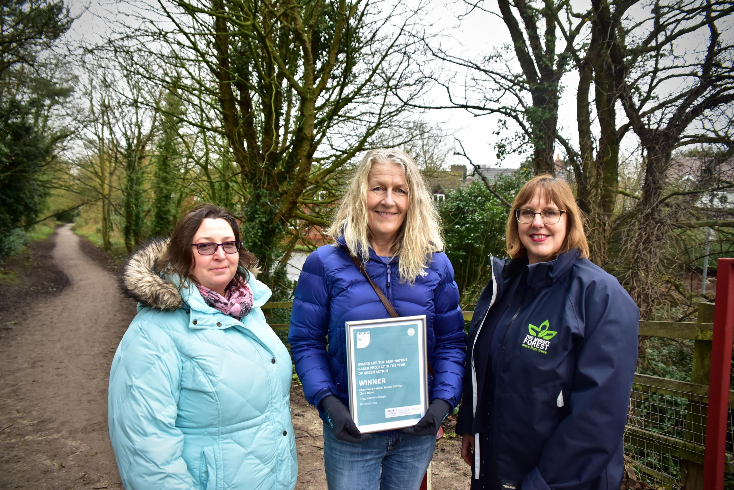 Green scheme to help Cheshire West residents enjoy great outdoors wins national award