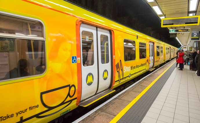 Storm Dennis: Flooding causes disruption to Merseyrail Chester services