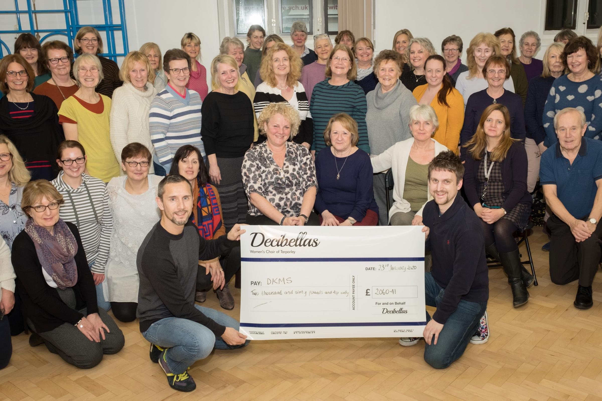 Chester village women's choir raises more than £2k in aid of father-of-two with incurable blood cancer