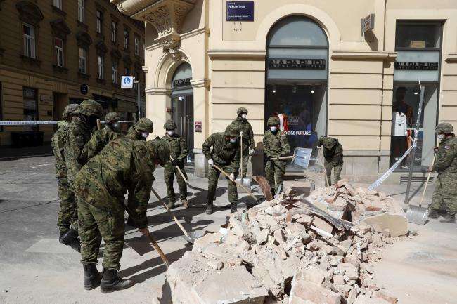 Aftershocks Rattle Croatian Capital A Day After Strong Quake Chester And District Standard