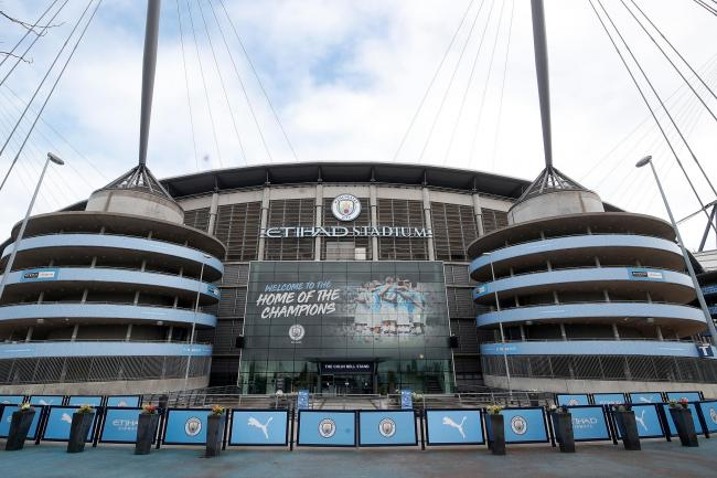 Part of the Etihad Stadium will be opened up to NHS for staff training