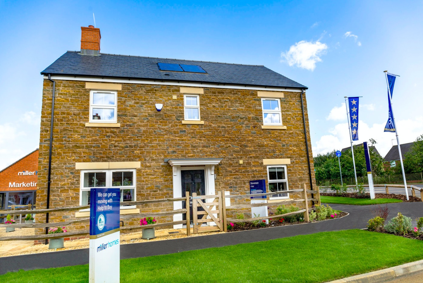 House builder, behind a Cheshire development, achieves fives stars in an independent survey