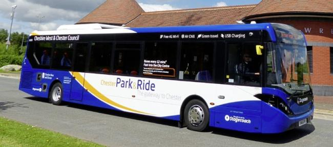Chester Park and Ride.