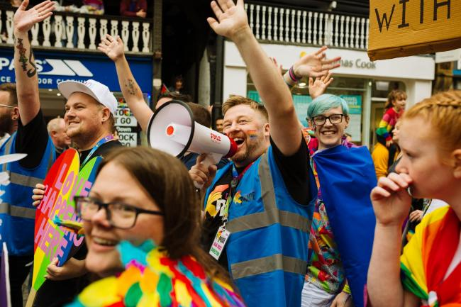 Chester Pride is crowdfunding for a new café and community space. Photos taken prior to Covid.