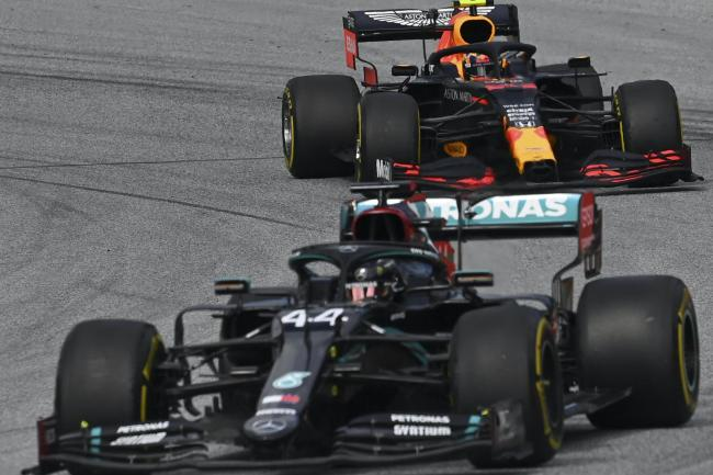 Red Bull have protested against Mercedes steering