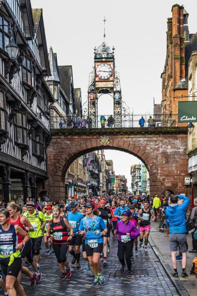 Chester Marathon. Image: Active Leaisure Events