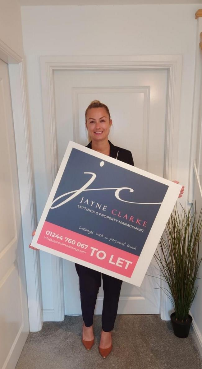 Jayne Clarke has launched her new lettings and property management agency.