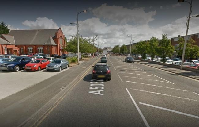 Police were called to Whitby Road, Ellesmere Port, at 12.20pm where a man was arrested for possessing a bladed weapon.