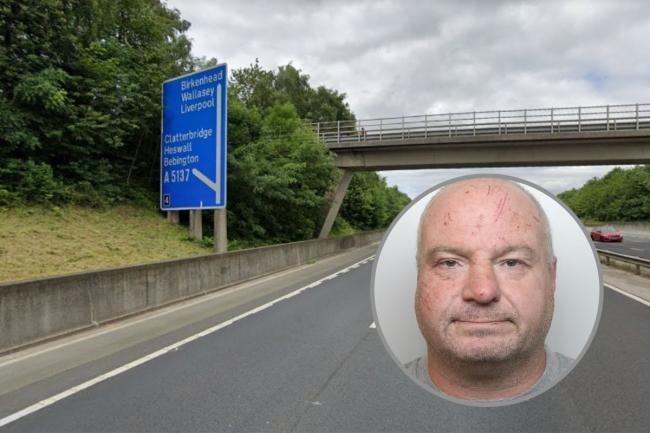 Paul Morgan, 49, from Great Sutton, was found to be in possession of heroin after police stopped a car he was travelling in on the M53 near Clatterbridge.