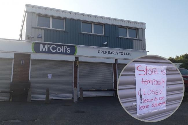 McColl's in Little Sutton is currently closed after a staff member tested positive for coronavirus.